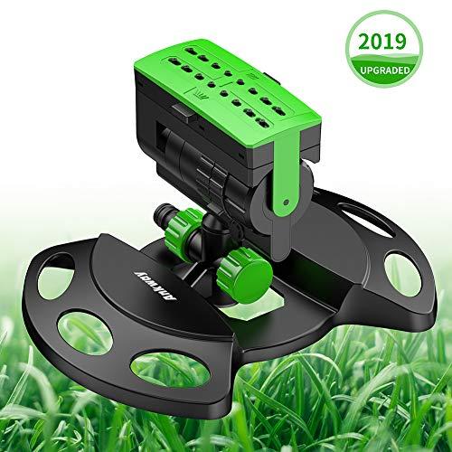 Ankway Arroseur de Jardin, Oscillant Arroseur Automatique pour l'équipement d'Irrigation, Réglages...