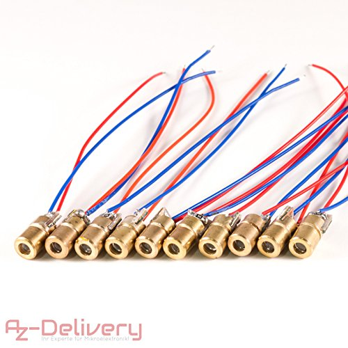 650/nm 5/mW Red Dot laser Module Class Iiia Robotics posizionamento