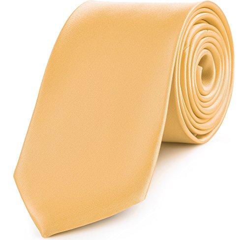 Ladeheid Herren Breite Krawatte SW-6-D (150cm x 8cm, Gold)
