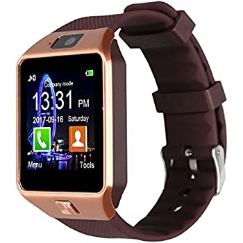 Padgene DZ09 reloj inteligente cámara Bluetooth Smart muñeca reloj ...