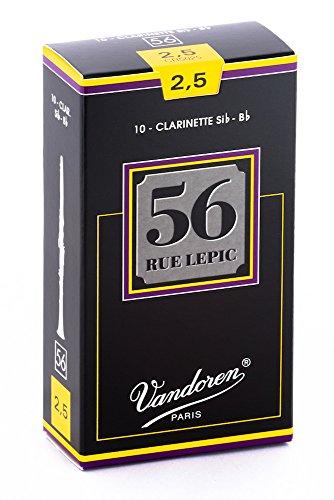 Vandoren CR5025 Box 10 Ance 56 Rue Lepic 2.5 Clar Sib