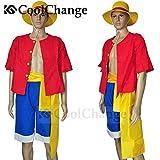 CoolChange disfrace de Ruffy después de los dos años de separación del equipaje Sombreros de Paja. Talla: M