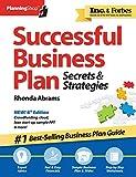 Successful Business Plan: Secrets & Strategies (Planning Shop)