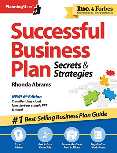 Successful Business Plan: Secrets & Strategies (Planning Shop) por Rhonda M. Abrams