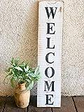 Zachrtroo Willkommensschild Willkommen Veranda Schild Willkommen Schild Willkommen Schild Tür Willkommen Holz Schild New Home Buyer rustikale Dekoration Bauernhaus