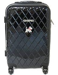 Carro abs 'Chipie'negro (50 cm).