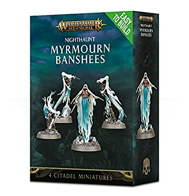 Warhammer+AoS+-+Easy+to+Build%3A+Nighthaunt+Myrmourn+Banshee