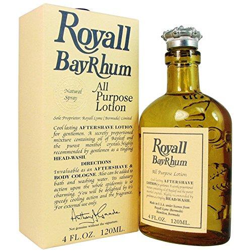 Preisvergleich Produktbild ROYALL BAYRHUM OF BERMUDA von Royall Fragrances für Herren. ALL PURPOSE LOTION SPRAY / SPLASH KÖRPERLOTION 4.0 oz / 120 ml