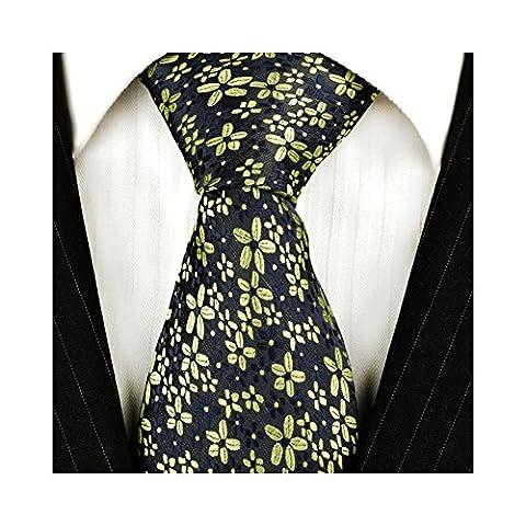 Ties N Such Herren Krawatte mehrfarbig mehrfarbig, grün, T13xx series