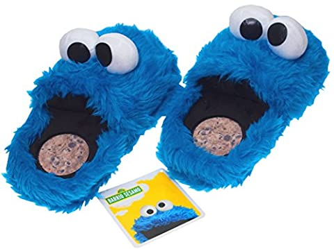Sesame Street Cookie Monster Slippers Royal blue Size: S