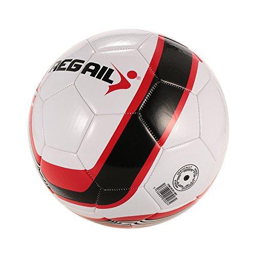 Lixada Tamaño 5 Balón de Fútbol Máquina Cosida al Aire Libre Escuela de Fútbol Sala de Formación Fútbol
