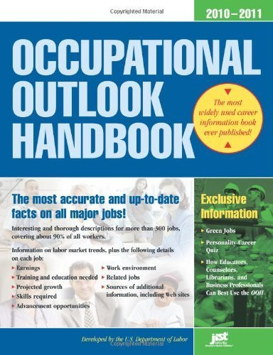 Occupational Outlook Handbook, 2010-2011: With Bonus Content (Occupational Outlook Handbook (Jist Works)) Original edition by Us Dept of Labor (2010) Paperback