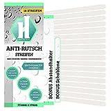 18 Anti-Rutsch-Sticker Badewanne Dusche Bad + Anbringhilfe / Rutschsichere Duschmatte transparent / Selbstklebende Antirutsch Sticker / Kurz (254mm x 19mm)