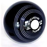 Stevens Standard Density Black Crown Green Bowls Pair
