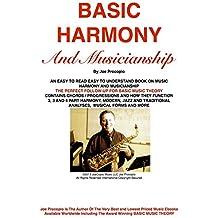 BASIC HARMONY AND MUSICIANSHIP (English Edition)