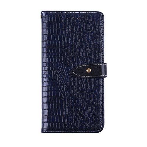 CiCiCat Oukitel K5000 Hülle Handyhüllen, Flip Back Cover Case Schutz Hülle Tasche Schutzhülle Für Oukitel K5000 Smartphone. (Oukitel K5000 5.7'', Blau)
