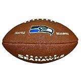 Wilson Nfl Team Logo Seattle Seahawks - Brown