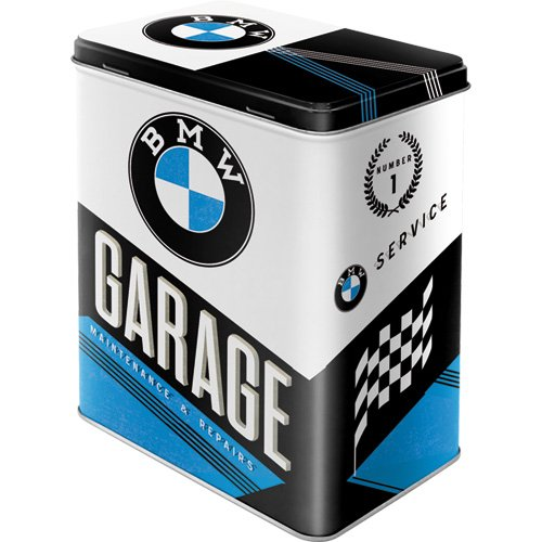 Nostalgic-Art 30139 BMW - Garage, Vorratsdose L