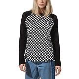 Vans T-Shirt À Manches Longues Boom Boom Unity Checkerboard Noir L (Large)