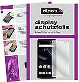 dipos I 2X Schutzfolie klar passend für Doogee S50 Folie Displayschutzfolie