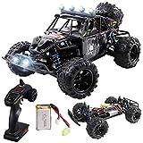 Maxxrace RC Autos Elektrisches Ferngesteuertes Spielzeugs, Remote Control Crawler Autos mit 4WD, 40Km/h, 2.4G, LED Geländewagen Geschenk für die Kinder / Jugendlichen High-Speed Fahrzeuge