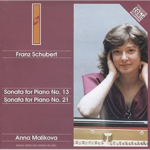 Sonatas for by Schuber Franz (1998-04-21)
