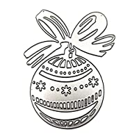 Apofly 1pc Cutting Dies Metal Gift Ball Diy Cutting Dies Stencil for Diy Scrapbooking Album Stamp Paper Card Embossing Crafts Decor