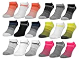 "6 oder 12 Paar Damen Sneaker Socken ""Gute Laune"" Baumwolle Damensocken ohne Naht - 36349/2 - sockenkauf24"