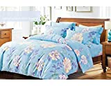 Renzo Cathy Ashley 235x255CMS Best For Home Use Ac Comforter New Model High Quality Ac Comforter Supersoft Handfeel Double Bed - Ac Comforters Traditional Renzo Ac Comforter With Bed Sheets & 46x69 - 2 Pillow cases+1 duvet cover 225*250CMS Cotton (All Season Ac Comforter)