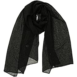 Fashiongen - Fular para Mujer, WIKTORIA - Negro