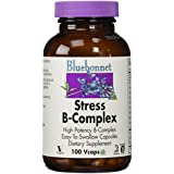 Bluebonnet Nutrition, Stress B-Complex, 100 Capsules végétales