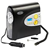 Ring RAC600 Digital Tyre Inflator, 12V Air Compressor Tyre Pump, 3.5 Min Tyre Inflation, LED Light, Valve Adaptors **AMAZON EXCLUSIVE**