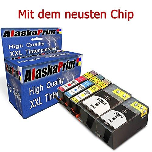 6830-serie (WOW 5 XXL Druckerpatronen Komaptibel für HP 934XL 935XL 934 XL 935 XL für HP Officejet Pro 6830 6820 6230 6835 6836 6220 6800 Serie 6825 Hp officejet 6812 6815 Drucker Tintenpatronen mit Chip + Füllstandsanzeige (2x Schwarz, 1x Cyan, 1x Magenta, 1x Yellow)