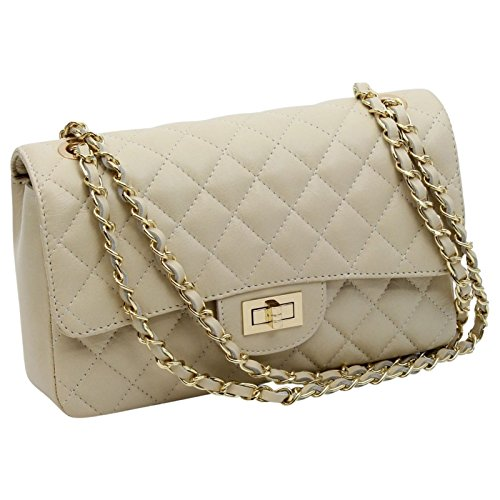 made-in-italy-luxury-ladies-bella-nappa-leather-quilted-chain-clutch-bag-handbag-cream