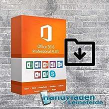 MS Office 2016 Pro Plus Lizenzschlüssel 32/64 Bit per Mail innerhalb 1-2 Stunden + Postbrief Versand von Handyladen-Leinfelde