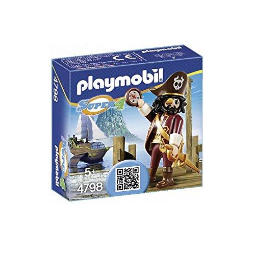 Playmobil Super4 Sharkbeard