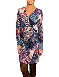 SMASH Avelina Vestido Con Fruncido-A1682336, Robe de Plage Maternité Femme