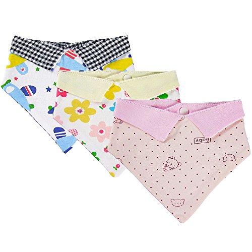 Cartoon Newborn Baby Burp Bandana Bibs Soft Kids Toddler Triangle Scarf Bib Cool Accessories Infant Saliva Towel Baby Infant Toddler Bib