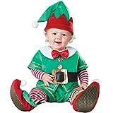 Odziezet Costume Abito Set da Natale per Neonato Pagliaccetti Cosplay da Prima Infanzia