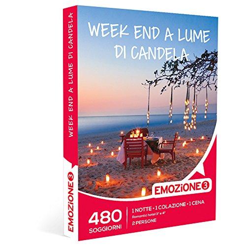 Emozione3 - cofanetto regalo - week end a lume di candela - 480 soggiorni romantici in hotel 3 o 4 stelle in tutta italia