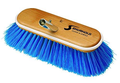 Shurhold 975 Blue 10 Extra Soft Nylon Deck Brush by Shurhold Shurhold 10