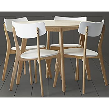 Tesco Charlie Round Dining Table 4 Chair Set