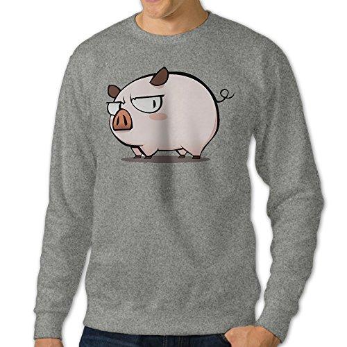 kk-mens-cartoon-pig-piggy-classic-sweater-ash-xxl
