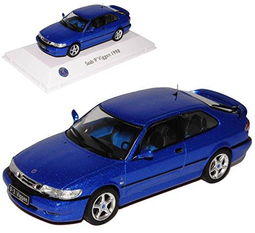 saab-9-3-ys3d-viggen-coupe-blau-1-generation-1998-2003-1-43-atlas-modell-auto-mit-individiuellem-wun