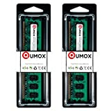 QUMOX 4GB(2X 2GB) DDR2 800MHz PC2-6300 PC2-6400 DDR2 800 (240 Pin) 2 GB DIMM Desktop Memoria
