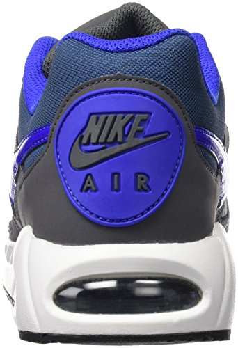 Executando Branco Ivo Azul Cinzento Nike Piloto escuro Sapatos Ar Gris Homens Max w6q7tp