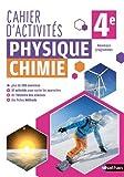 Cahier de Physique-Chimie 4e...
