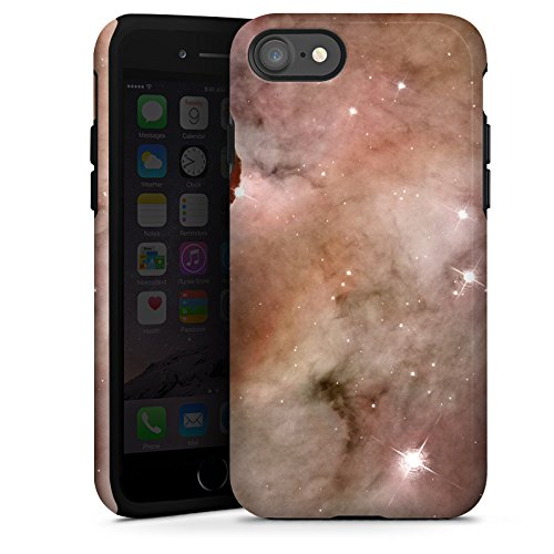 Apple iPhone X Silikon Hülle Case Schutzhülle Galaxy Space Die Staubsäule des Carina-Nebels Tough Case glänzend