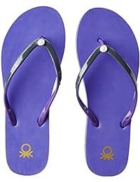 United Colors Of Benetton Women's Flip-Flops And House Slippers - B01N6WJR3P