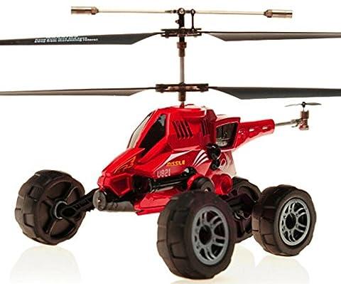 Jouet de voiture RC rechargeable hélicoptère radiocommandé